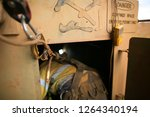 close up shot of rope access... | Shutterstock . vector #1264340194