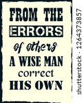 from the errors of others a... | Shutterstock .eps vector #1264373857