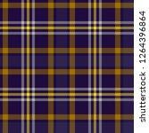 seamless tartan plaid pattern...   Shutterstock .eps vector #1264396864