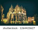 st. vitus cathedral in prague ... | Shutterstock . vector #1264423627