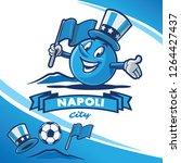naples banner for soccer event | Shutterstock .eps vector #1264427437