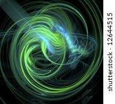 swirling galaxy | Shutterstock . vector #12644515