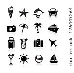 summer icons | Shutterstock .eps vector #126449264