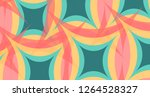 abstract colorful vector... | Shutterstock .eps vector #1264528327
