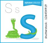 animal alphabet collection  s... | Shutterstock .eps vector #126454919