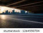 urban road overpass in the... | Shutterstock . vector #1264550704