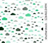 light green vector seamless... | Shutterstock .eps vector #1264613494