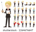 it is a character set of a... | Shutterstock .eps vector #1264676647