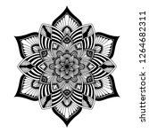 mandalas for coloring  book.... | Shutterstock .eps vector #1264682311