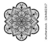 mandalas for coloring  book.... | Shutterstock .eps vector #1264682317
