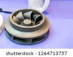 steel or brass alloy casting... | Shutterstock . vector #1264713757