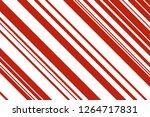 christmas candle  lollipop...   Shutterstock .eps vector #1264717831