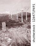 wind turbines  galicia  spain...