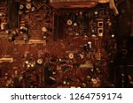 electronic circuit board close... | Shutterstock . vector #1264759174