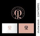 queen jewelry logo. q  j... | Shutterstock .eps vector #1264768981