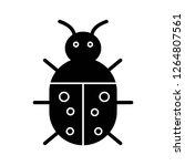 vector bug icon   | Shutterstock .eps vector #1264807561