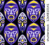 vector illustration. african...   Shutterstock .eps vector #1264810141