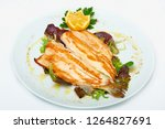 Fillet Of Sea Bass Grilled With ...