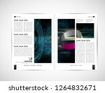 graphics brochures design... | Shutterstock .eps vector #1264832671