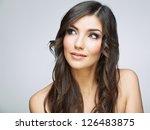 beauty style female portrait.... | Shutterstock . vector #126483875
