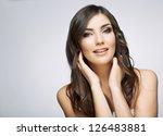 beauty style female portrait.... | Shutterstock . vector #126483881