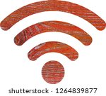 wifi signal symbol | Shutterstock . vector #1264839877