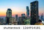 blured bangkok city   aerial... | Shutterstock . vector #1264914181