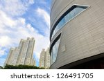 singapore   december 15  facade ...   Shutterstock . vector #126491705