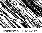 asymmetric texture with doodles ... | Shutterstock .eps vector #1264964197