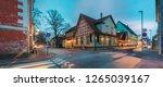 parnu  estonia. night view of... | Shutterstock . vector #1265039167