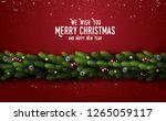 we wish you merry christmas and ...   Shutterstock .eps vector #1265059117
