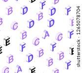light purple vector seamless... | Shutterstock .eps vector #1265078704