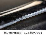 a sharp serrated knife  used in ... | Shutterstock . vector #1265097091