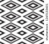 seamless pattern turkish carpet ... | Shutterstock . vector #1265133601
