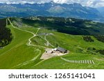 mountain trails at mont joly in ... | Shutterstock . vector #1265141041