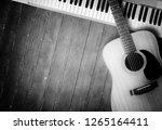 musical instrument   sloseup... | Shutterstock . vector #1265164411