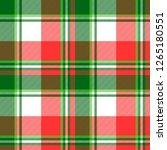 green bright madras plaid... | Shutterstock . vector #1265180551