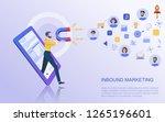modern flat design concept of... | Shutterstock .eps vector #1265196601