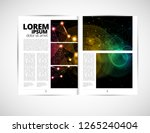 graphics brochures design... | Shutterstock .eps vector #1265240404
