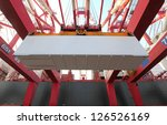 container terminal | Shutterstock . vector #126526169