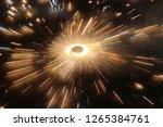 the celebration of lights in... | Shutterstock . vector #1265384761