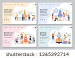 startup landing pages. web... | Shutterstock .eps vector #1265392714