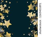 stars confetti vertical border. ... | Shutterstock .eps vector #1265401891