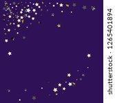 stars confetti diagonal border. ... | Shutterstock .eps vector #1265401894