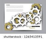 flyer  brochure  billboard...   Shutterstock .eps vector #1265413591