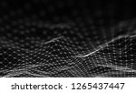 abstract technology background. ...   Shutterstock . vector #1265437447