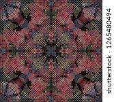 seamless pattern handkerchief...   Shutterstock . vector #1265480494