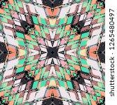 seamless pattern handkerchief... | Shutterstock . vector #1265480497
