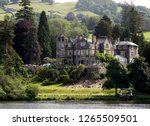 A general view from Windermere Lake in Lake District, Cumbria, England, UK.