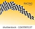 racing template  vector | Shutterstock .eps vector #1265585137